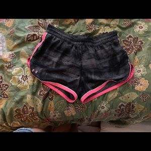 under armour workout shorts breast cancer
